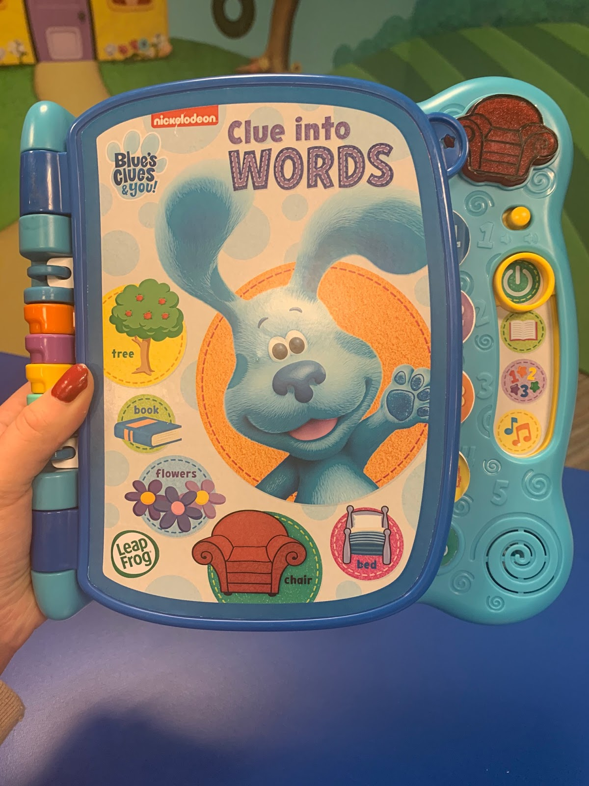 Blue's Clues Words : blue's, clues, words, NickALive!:, LeapFrog, Announces, 'Blue's, Clues, You!', Joining, Expanded, Infant, Preschool, Learning, Collection