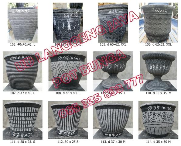 Ud Langgeng Jaya Fiber  Cetakan Pot Bunga 9356381b45