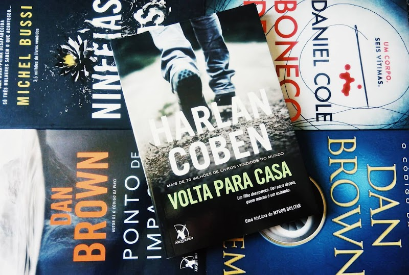 [RESENHA #533] VOLTA PARA CASA - HARLAN COBEN