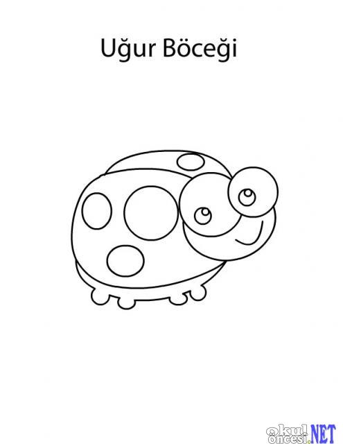 75 Okul Oncesi Bocek Boyama Sayfalari