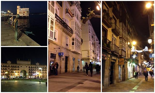 Paseo Pereda y centro de Santander