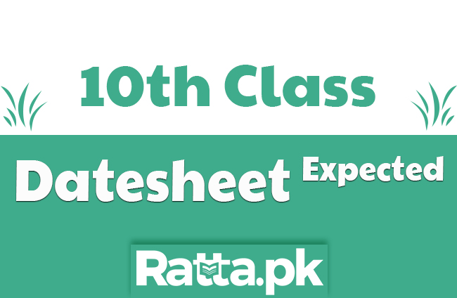 10th Class Expected Date sheet 2020 Annual Exams