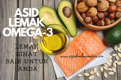 4 Manfaat Asid Lemak Omega-3