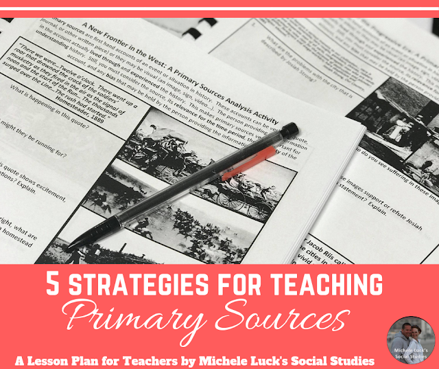 5 Strategies for Teaching Primary Sources
