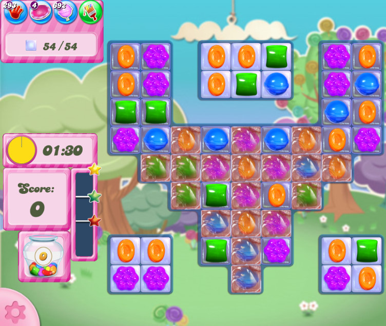 Candy Crush Saga level 2786