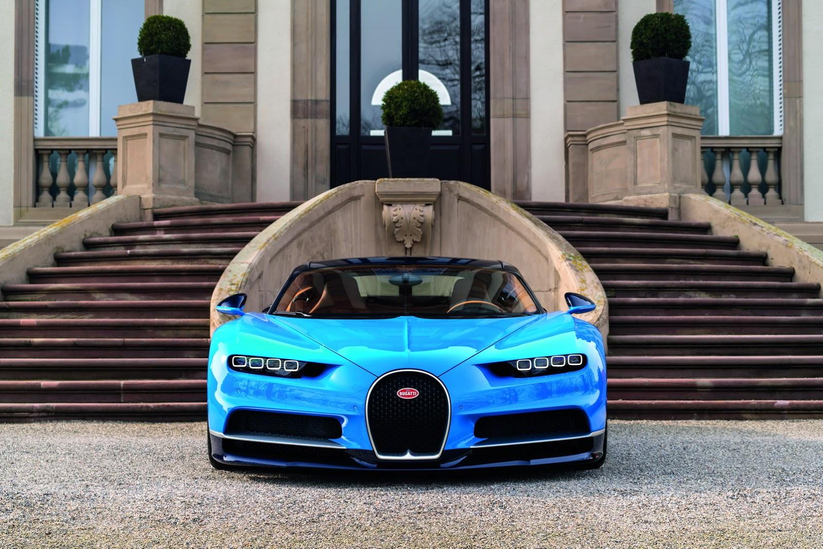 Bugatti Chiron sẽ có biến thể Grand Sport trong tương lai?