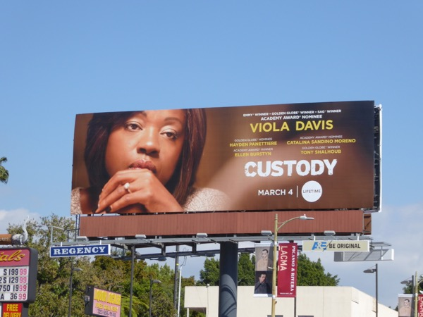 Custody Lifetime movie billboard