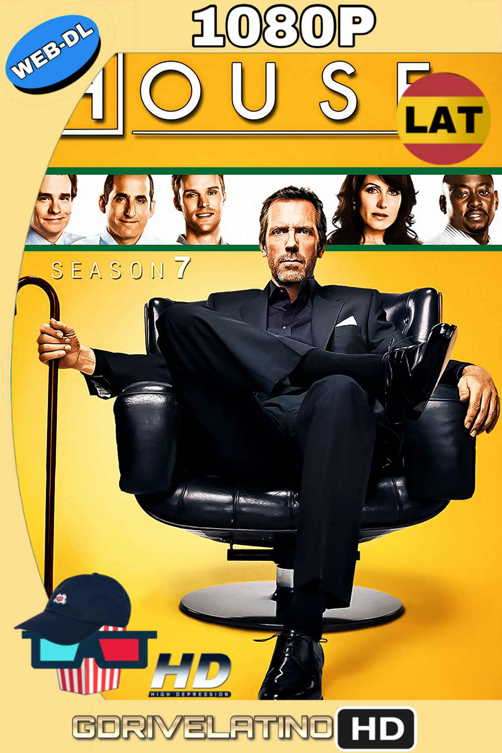 Dr. House Temporada 7 (2010) (23/23) WEB-DL 1080p (Latino-Inglés) MKV