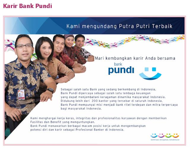 5 Lowongan Kerja BANK PUNDI Terbaru 2019