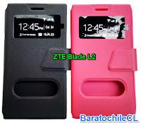 ZTE Blade L2 flip cover estuche con tapa