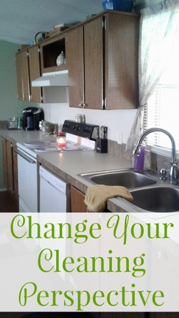 Change Your Cleaning Perspective - Kitchen