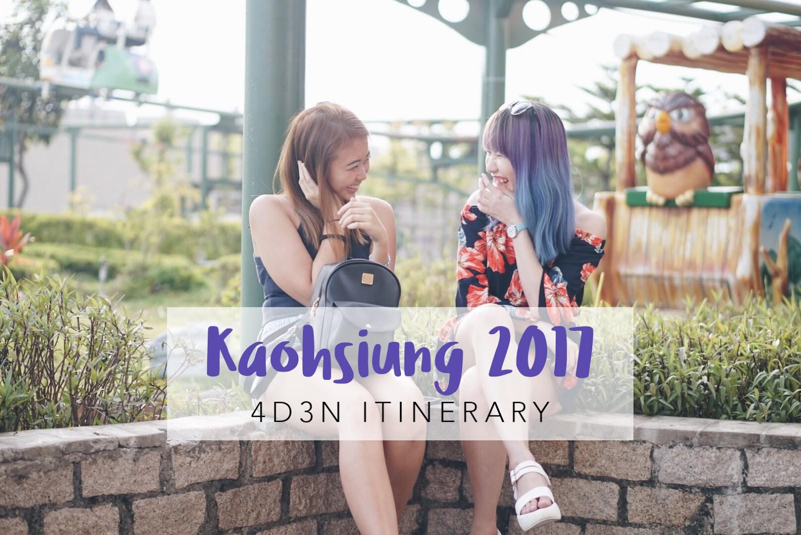 4D3N Kaohsiung 2017 Itinerary | PEKYJ TRAVEL BLOG SINGAPORE
