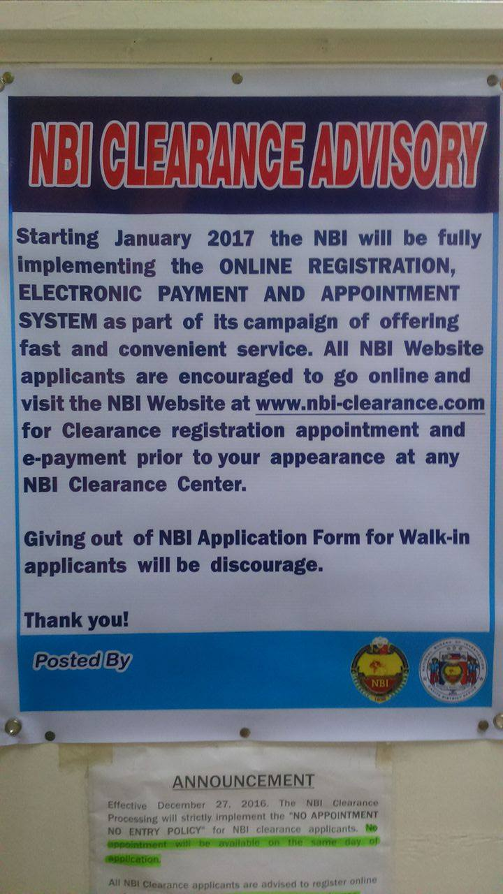 2017 step by step process how to get nbi clearance using the student visa 41500 malvernweather Choice Image