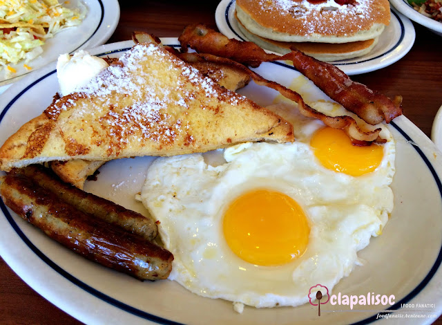 IHOP Philippines Breakfast Sampler Split Decision