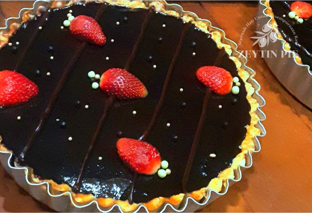 Pie Chocolate Opera Cheesetart - Zeytin Pie Depok
