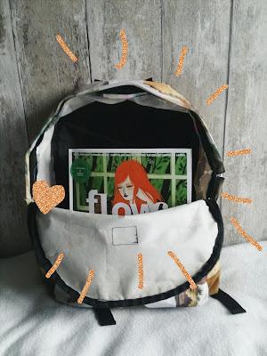 DIY backpack flow magazine