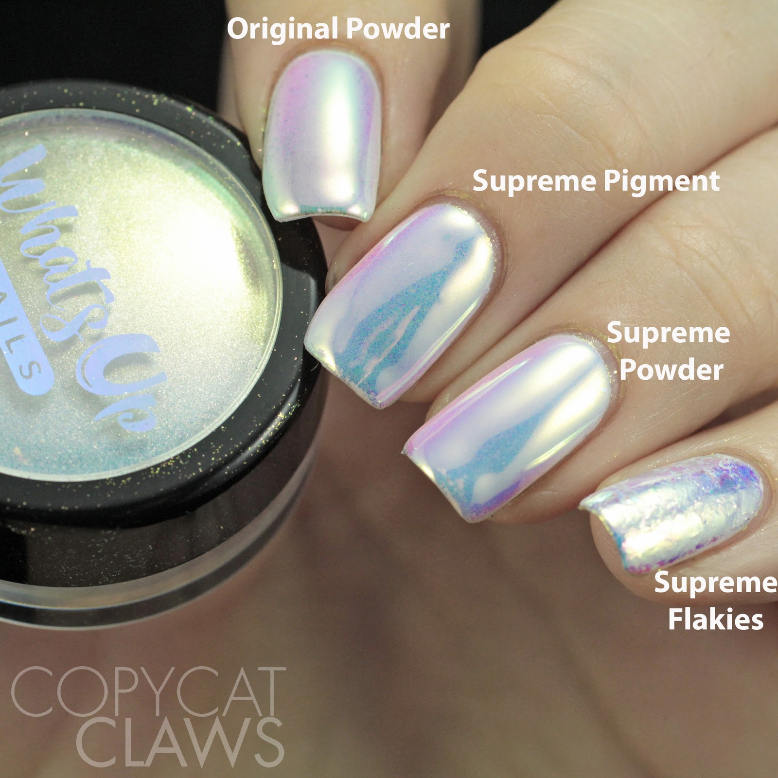 Copycat Claws: Whats Up Nails Aurora Supreme Comparison and Review