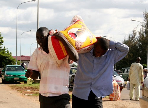 Bag of Rice Crashes and Sells for N13,000 in Some States