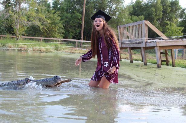 ग्रेजुएशन की डिग्री लेने की खुशी में लड़की ने किया ये 'खतरनाक' काम - newsonfloor.com
