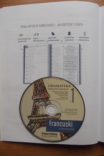 """Recenzje #1 - """"Francuski w tłumaczeniach cz.1"""" - książka z płytą CD - Francuski przy kawie"""
