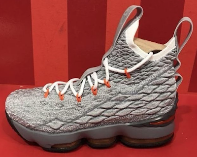 859fde7222a Nike Basketball has cooked up another Grey iteration of the Nike LeBron 15  that will be releasing exclusively in Grade School sizing. Dressed in a  Black