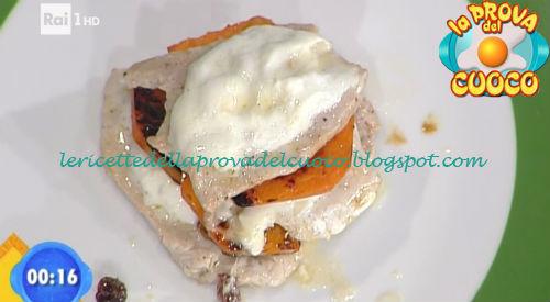 Lasagnetta di vitella con zucca e burrata ricetta Improta da Prova del Cuoco