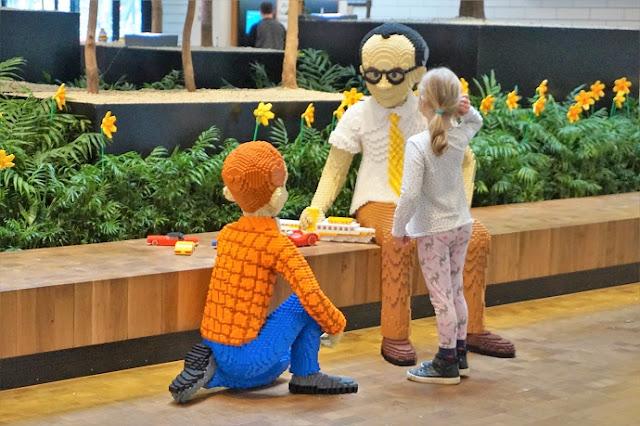 Lego House Billund lasten kanssa huhtikuussa 2019