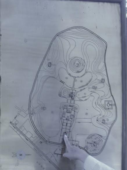 Mapa de la tumba del emperador Minh Mang en Hué