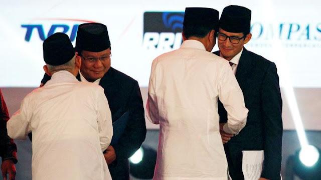 Survei Indometrik Menangkan Prabowo-Sandi