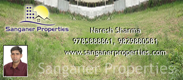 JDA Approved Commercial Land Near Saipura,In Sanganer