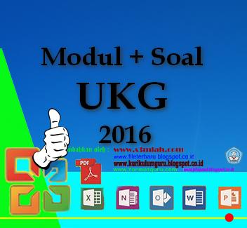 Download Modul UKG Soal UKG Terbaru 2016 Lengkap Gratis