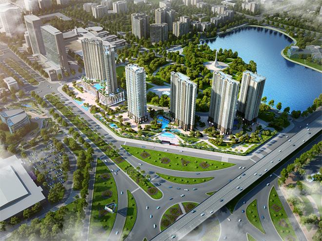 """D'.Capitale - Dự án bất động sản hạng sang """"hút"""" khách ngoại"""