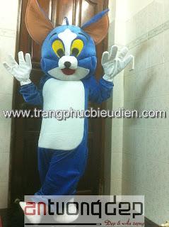may bán mascot mèo tom giá rẻ