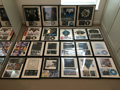FM 1984-1994 framed releases - albums - singles - Indiscreet