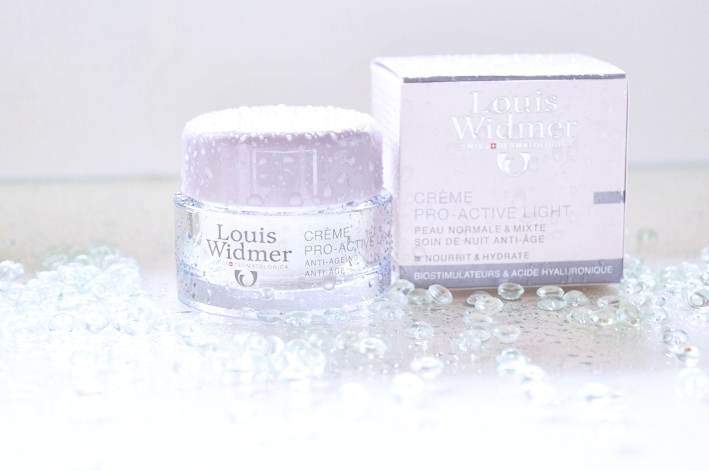 Louis Widmer Creme Pro-Active Light tested by Annie K, Beauty and Fashion Bloggerin, Founder of ANNIES BEAUTY HOUSE