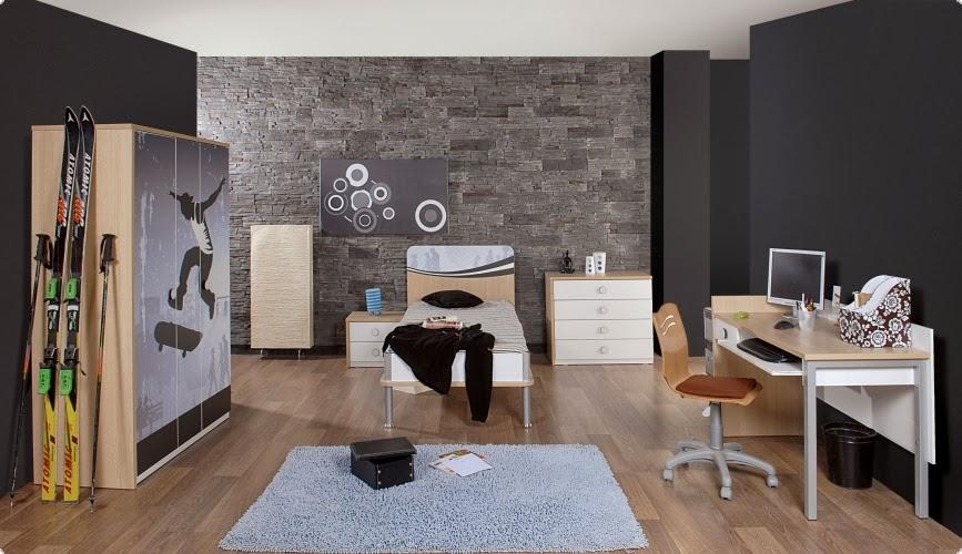 dormitorios tema skate ideas para decorar dormitorios. Black Bedroom Furniture Sets. Home Design Ideas