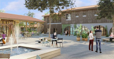France Builds A Village For Alzheimer's Patients