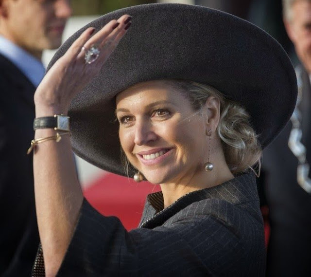 Queen Máxima opened the sustainable business complex Lely Campus in Maassluis