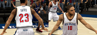 NBA 2K13 NOLA Pelicans Jersey Fictional Design