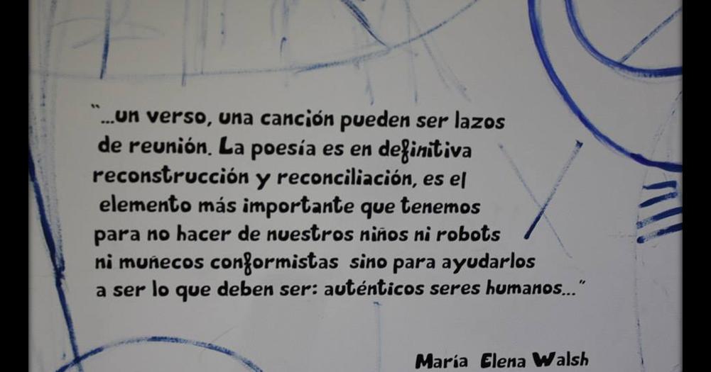 Sala Blanca El Reino De María Elena Walsh