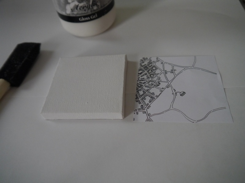 gel transfer mini canvases emily garfield art