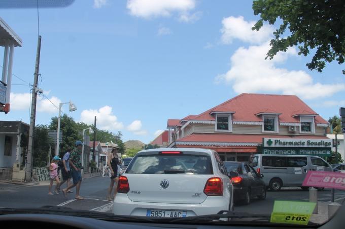 Karibian risteily, St Maarten Philipsburg ja Saint Martin Friar's Bay / autoilu saaren ympäri lasten kanssa - Liikenne ruuhkaista