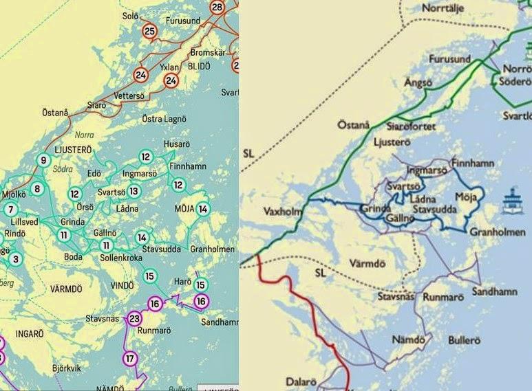 waxholmsbolaget karta Familjens Äventyr: februari 2015 waxholmsbolaget karta