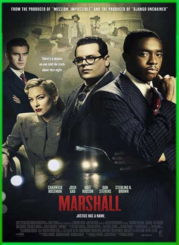 Marshall (2017) | DVDRip Latino HD GDrive 1 Link