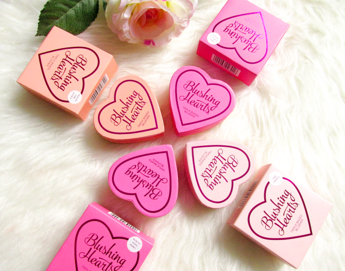 I Heart Makeup Blushing Hearts Triple Baked Blusher - Makeup Revolution - Verpackung