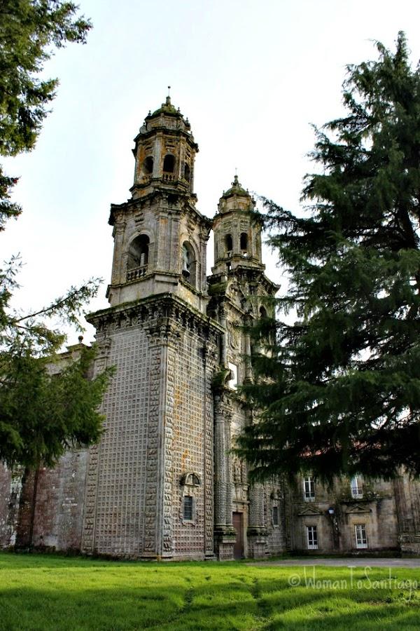 foto del monasterio de sobrado