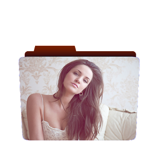 Preview of cute, brunette, girl, blonde, wallpaper icon