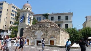 Atenas, Plaza de Monastiraki.