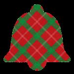 クリスマスのマーク(チェック・ベル)