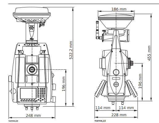 Surveying System: LEICA TS 30
